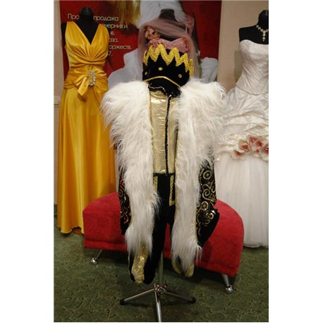 Costum de Carnaval pentru copii Rege 0244