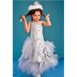 Детский карнавальный костюм Снежная Королева, Зима, Зеркало 0313