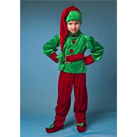 Детский карнавальный, маскарадный костюм Гномик 4568, 6053, 6052, 2728