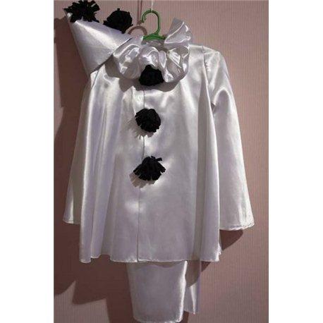 Детский карнавальный костюм Пьеро 0561