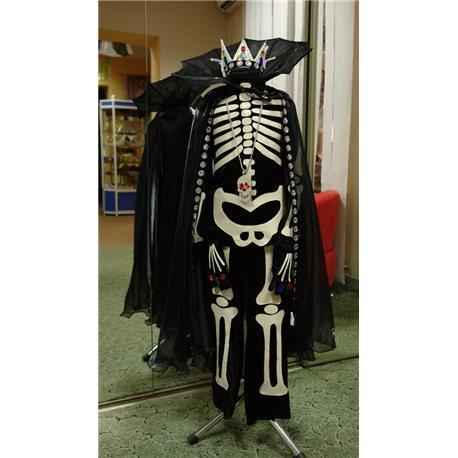 Карнавальный, маскарадный костюм Кащей Бессмертный, Скелет 4509, 0234