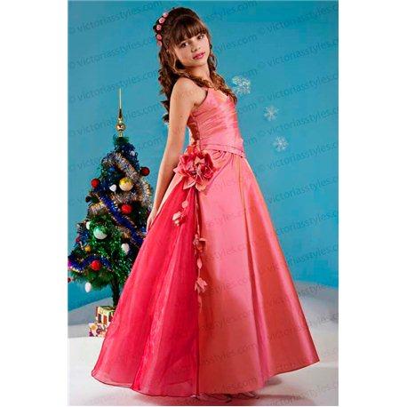 Элегантное платье из тафты 3645