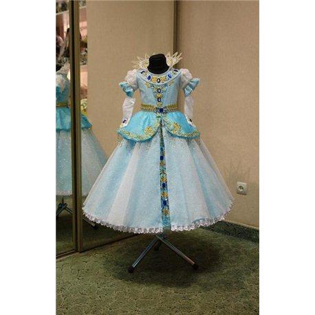 Карнавальное платье Диснеевская Золушка 4492