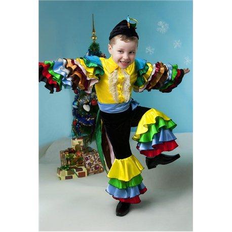 Карнавальный, маскарадный костюм Мексиканец, Попугай 4489