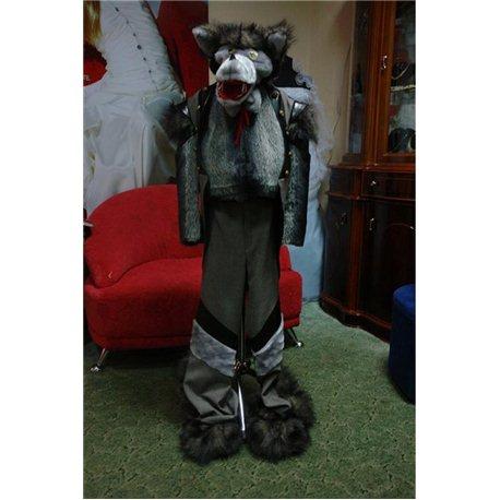 Детский карнавальный костюм Серый Волк 0612, 0077, 2511