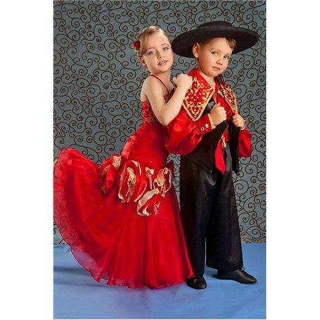 Costum de Carnaval pentru copii Țîgan 4481