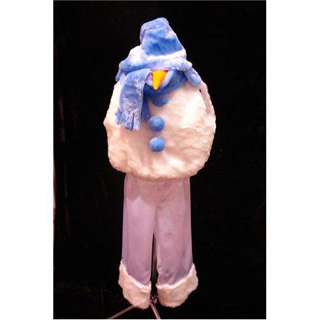 Costum de Carnaval pentru copii Om de Zăpadă 4394, 0271, 0272, 0273, 0274, 4107, 3640, 3208, 4198