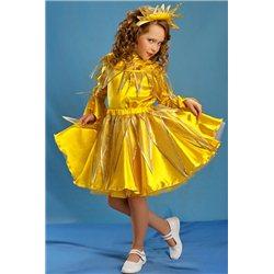 Costum de Carnaval pentru copii Soare fetita 5-7 ani  4367