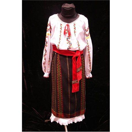 Молдавский Национальный костюм для девочки 4166