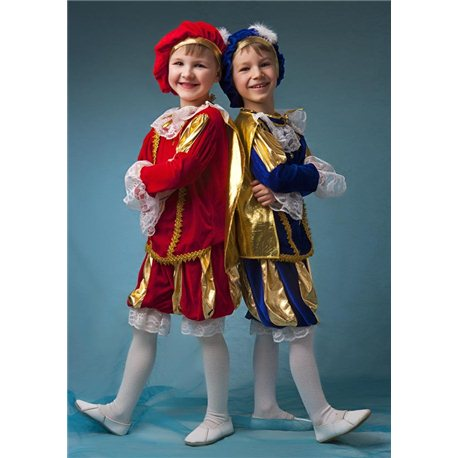 Детский карнавальный и маскарадный костюм Принц, Паж 4162, 4163