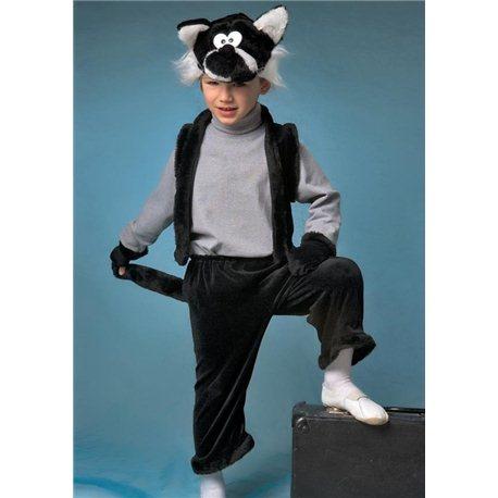 Карнавальный костюм для детей Кот 4160