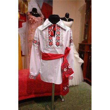 Молдавский Национальный костюм на мальчика 7 лет 3847