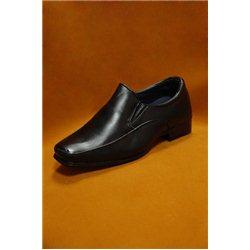 Черные туфли для мальчика размер 22, 4127