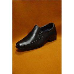 Черные туфли для мальчика размер 24, 4132