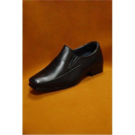 Черные туфли для мальчика размер 28, 4142