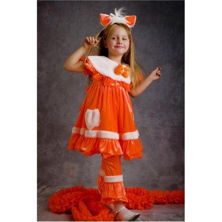 Карнавальный костюм Лисички 2966, 4598, 3137, 4599, 3161, 4623