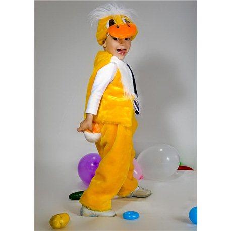 Детский карнавальный и маскарадный костюм Утенок 2890, 2604