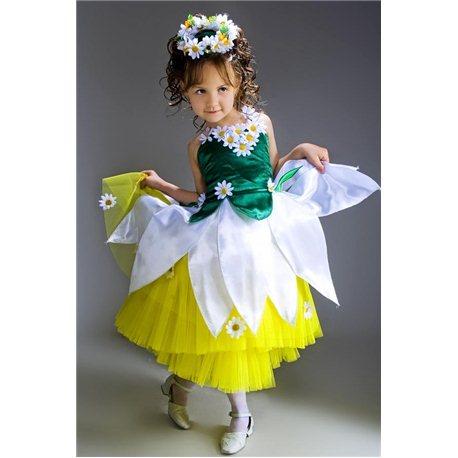 Детский Карнавальный и Маскарадный костюм Ромашки 2780, 2770