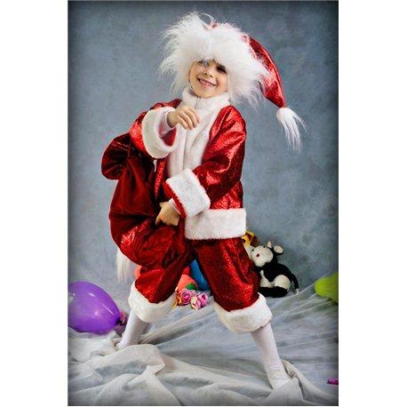 Детский карнавальный и маскарадный костюм Санта-Клаус парчя 2112, 2682, 2095, 1891