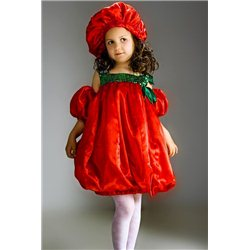 Детский карнавальный костюм Помидорка, Тюльпан 2357, 2356