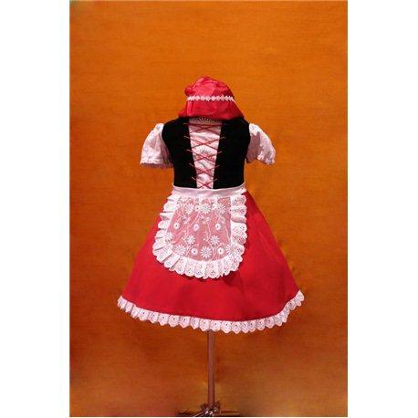 Карнавальный костюм Красной Шапочки 2185
