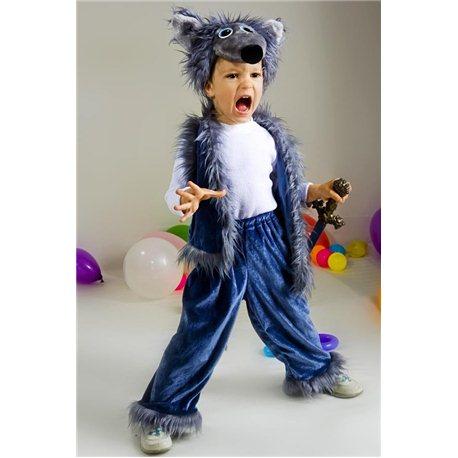 Карнавальный костюм Волка 1875, 2652, 2651