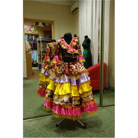 Costum de Carnaval pentru copii Ţîganca 1386